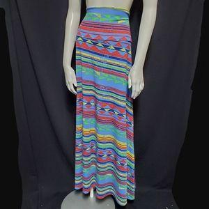 LuLaRoe Aztec Maxi Skirt